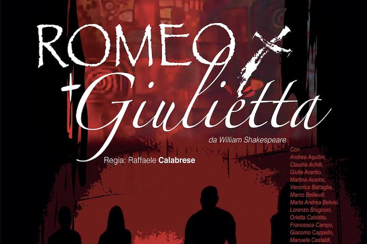 Romeo + Giulietta. Teatro Cyrano, 3 e 4 marzo