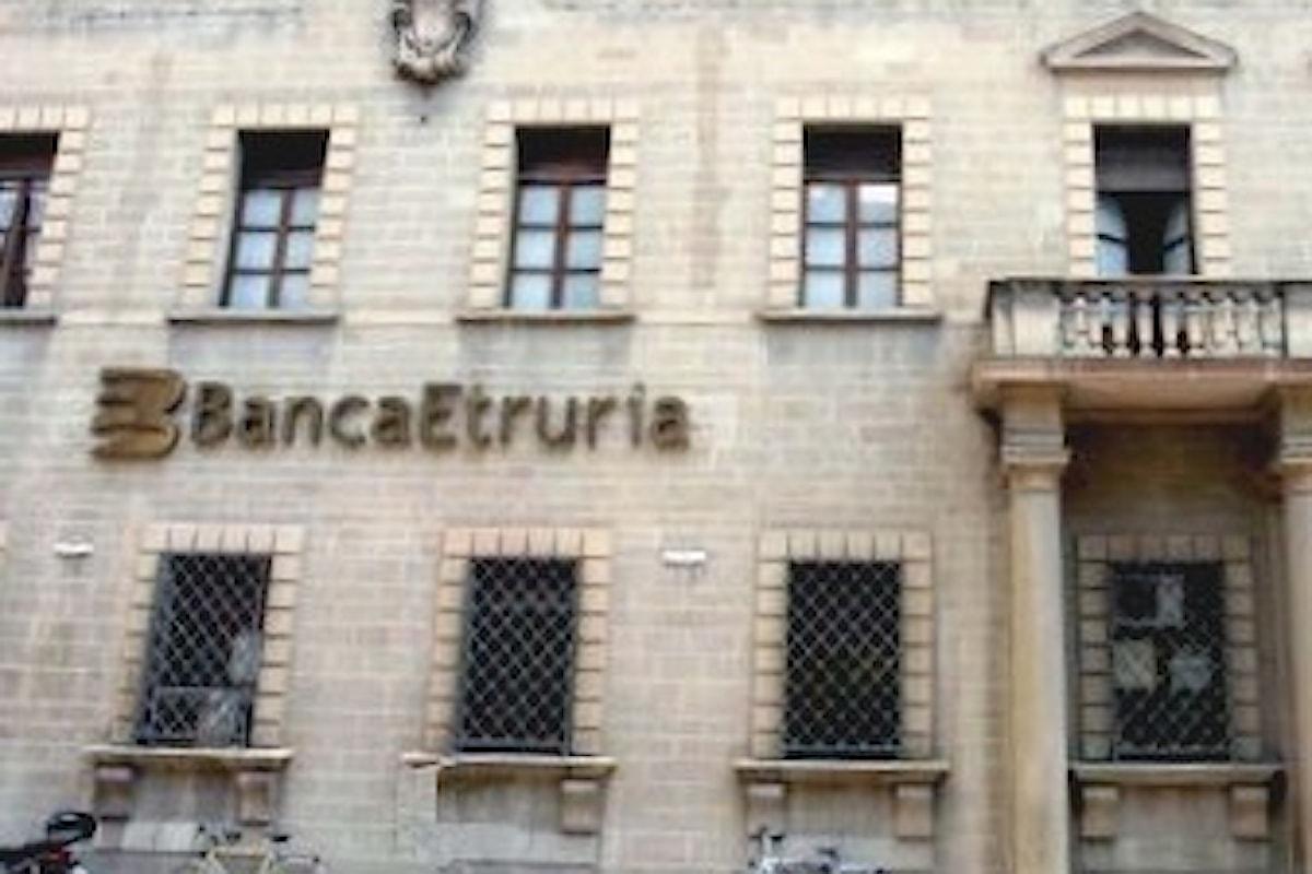 Salva banche: protesta davanti alla sede centrale di Banca Etruria