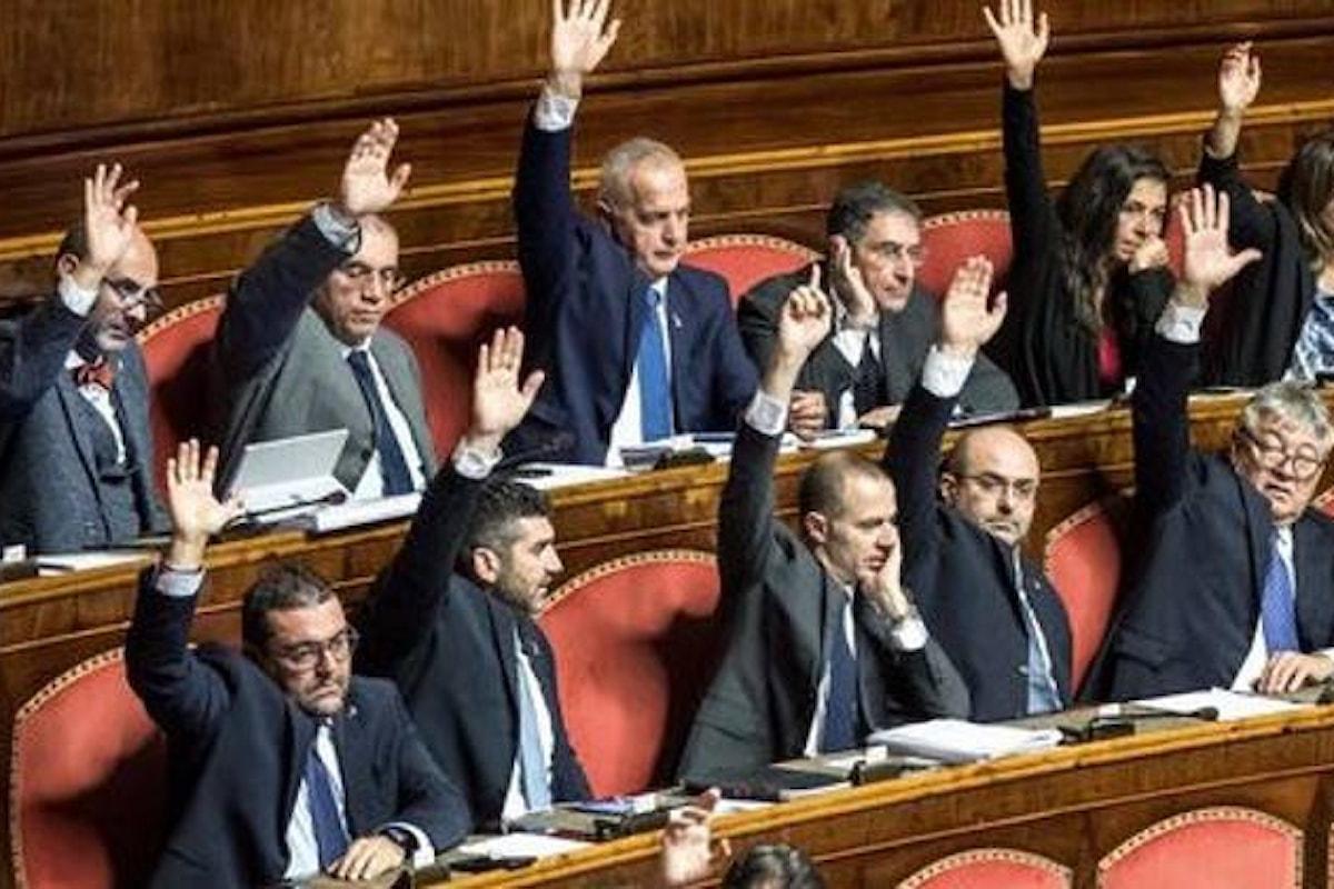 Approvata in seconda lettura al Senato la legge di bilancio 2019