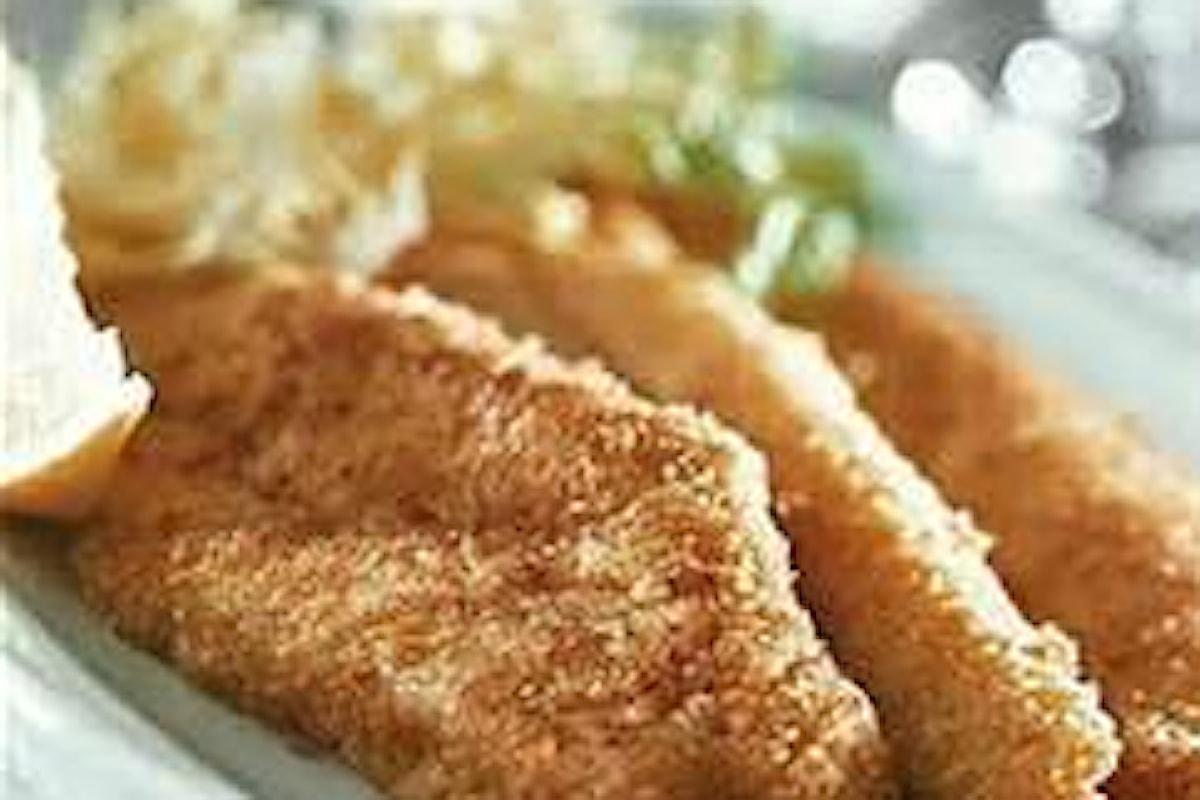 Filetti di pesce fritti alla birra