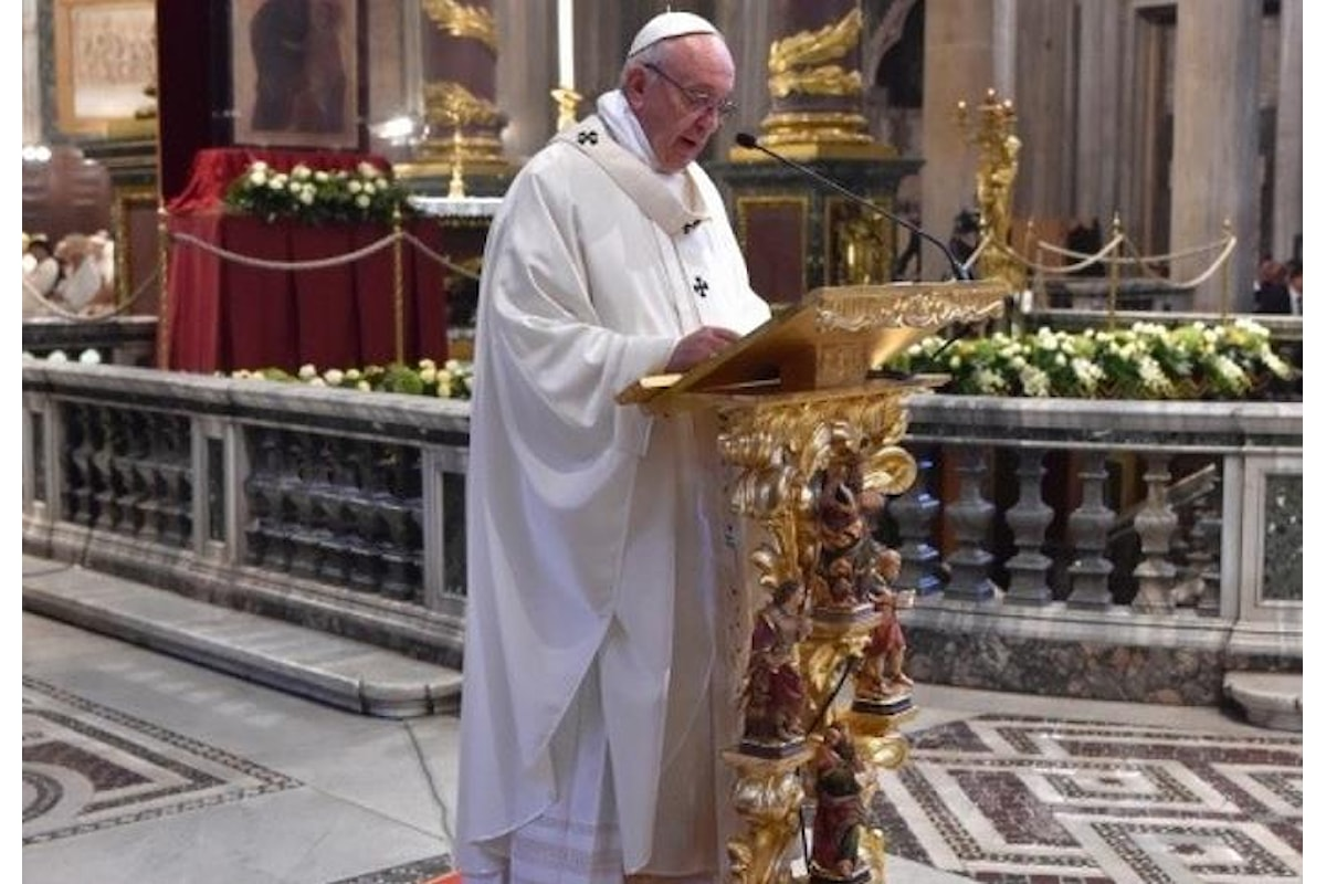 Per Bergoglio la terza guerra mondiale, anche se a pezzi, è già in atto