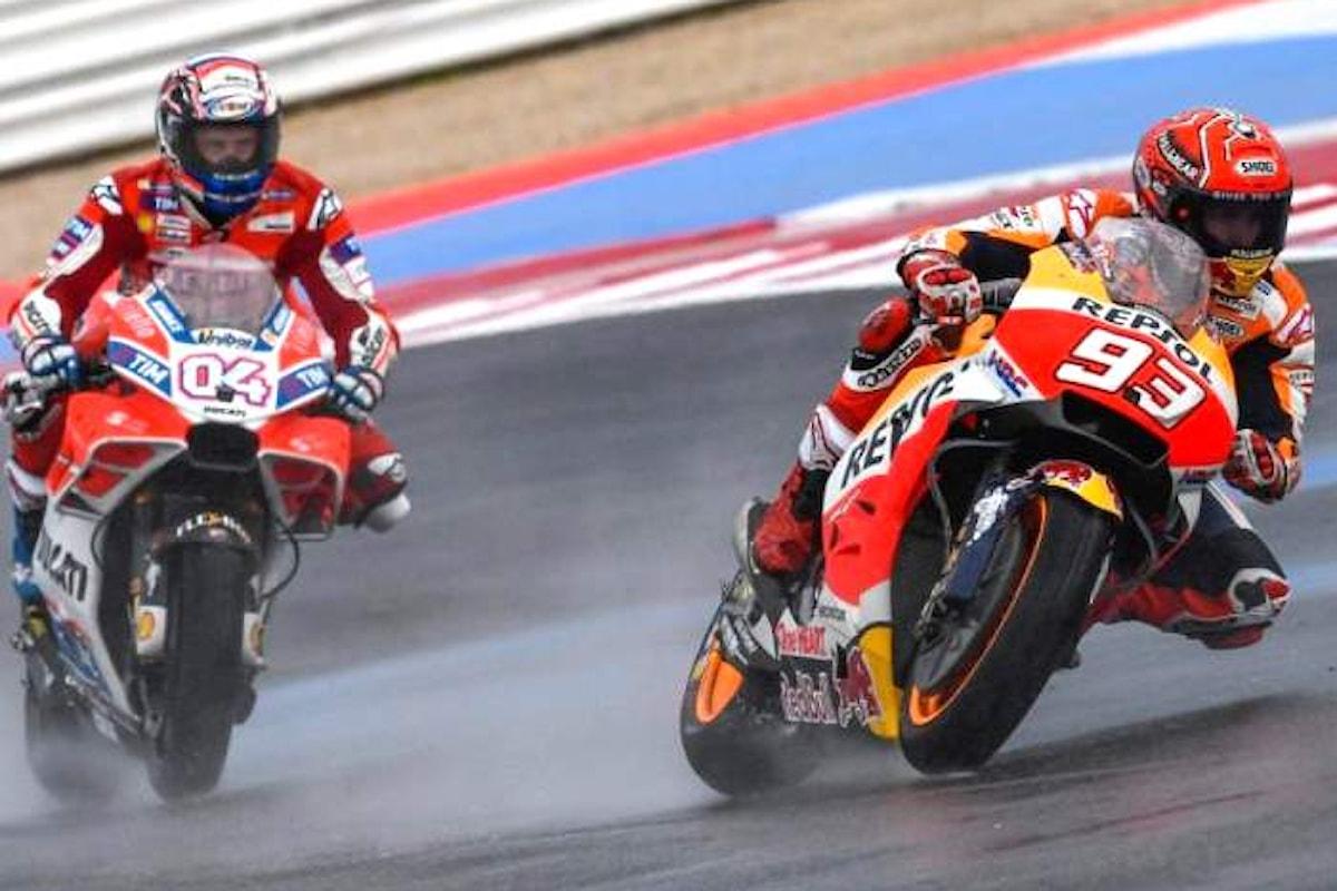 MotoGP, Rossi passa i primi test nelle libere del GP di Aragon
