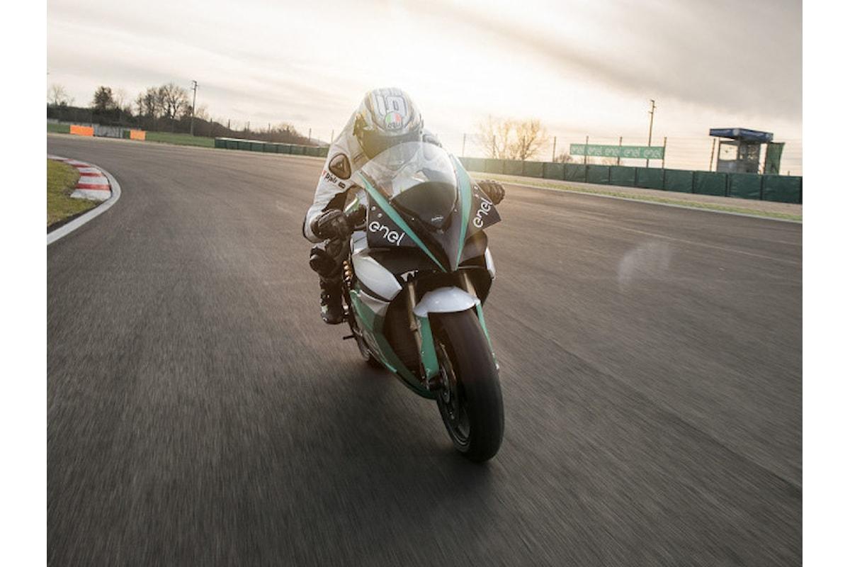 Presentata a Roma la MotoE, competizione per moto elettriche sorella della MotoGP
