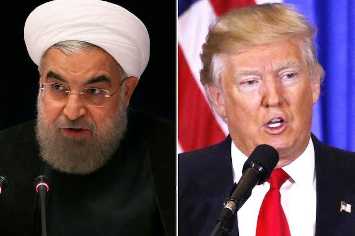 Trump e Rouhani, entrambi a New York per l'Assemblea Generale Onu, non avranno alcun colloquio