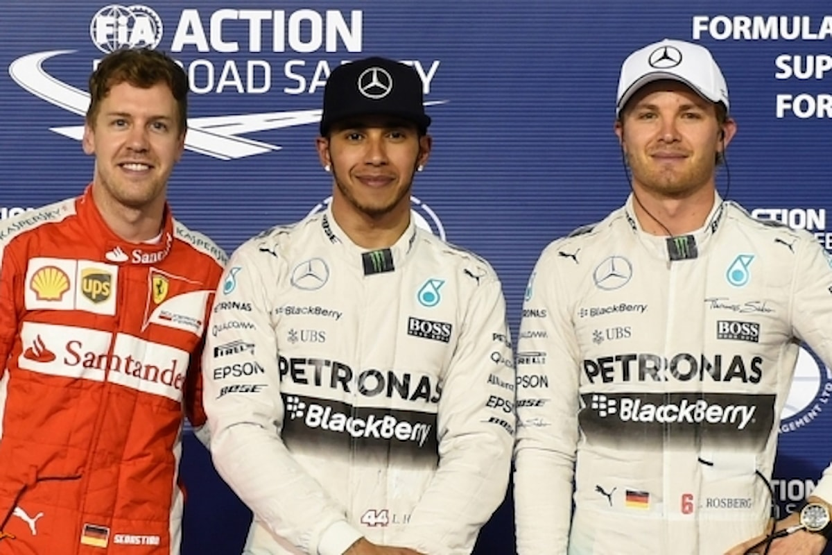 F1, Rosberg crede in Vettel Hamilton emotivo...