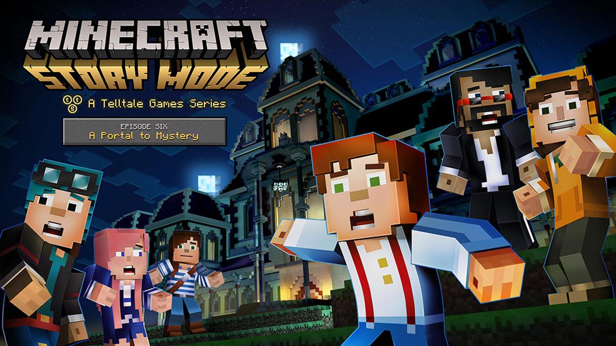 Minecraft Story Mode, A portal to mistery è pronto da scaricare