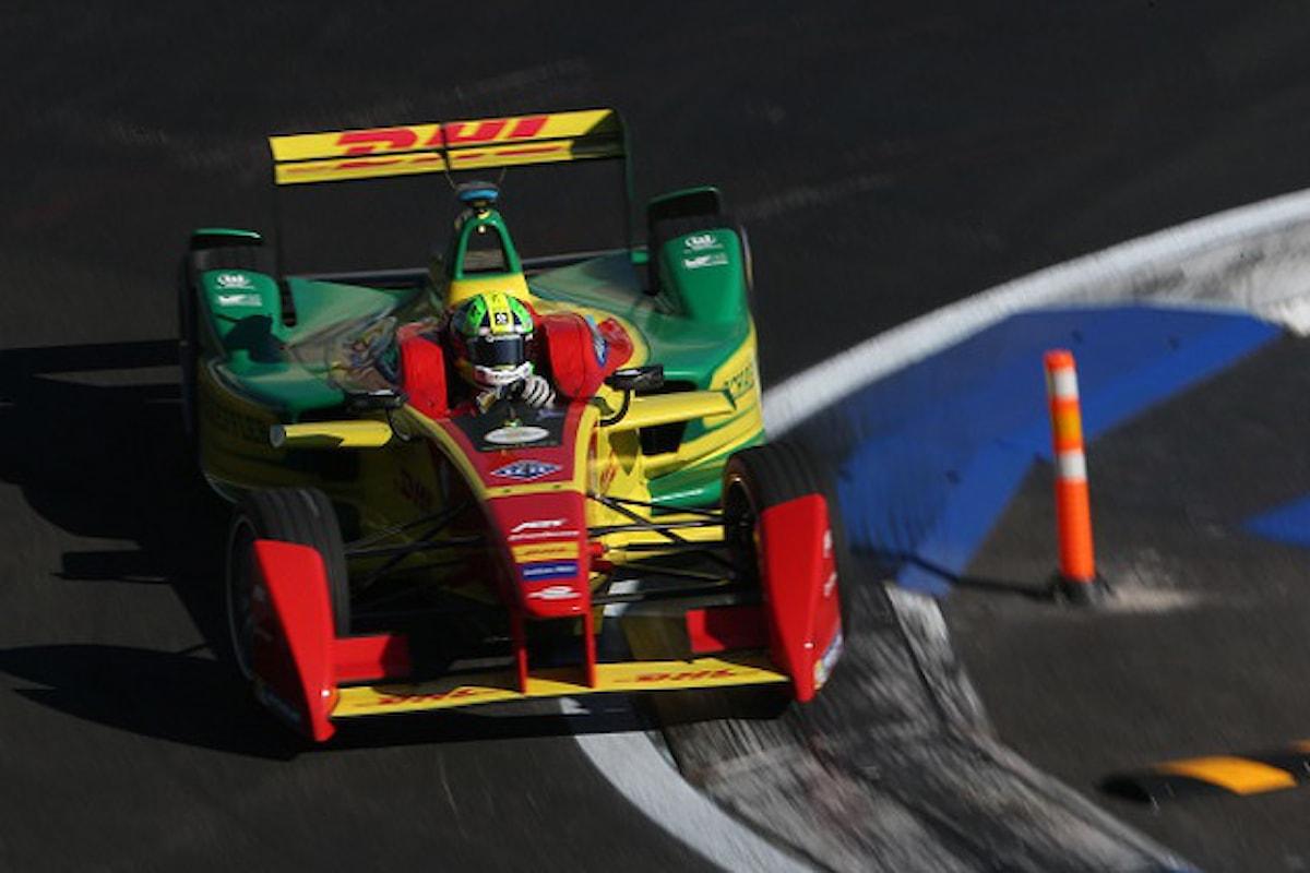 Formula E: Di Grassi, Sarrazin e Abt sul podio a Long Beach. Disastro Renault.