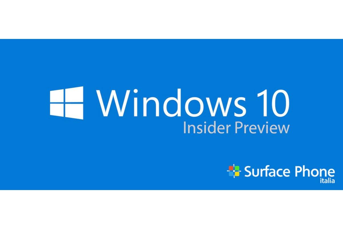 Windows 10 build 14352 disponibile! Scoprite insieme a noi tutte le novità introdotte di Cortana e Windows Ink!
