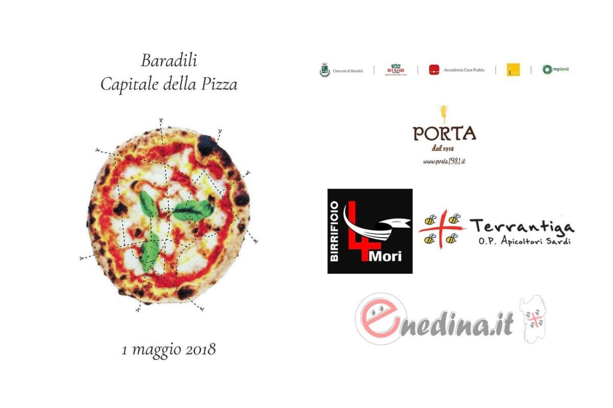 Primo maggio con pizza e birra: Baradili capitale della pizza