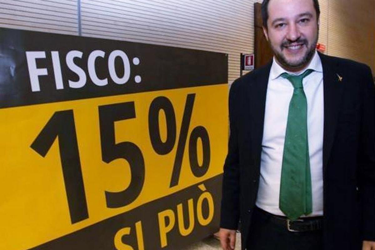 Ma perché Salvini non ci spiega come vuole realizzare la flat tax?