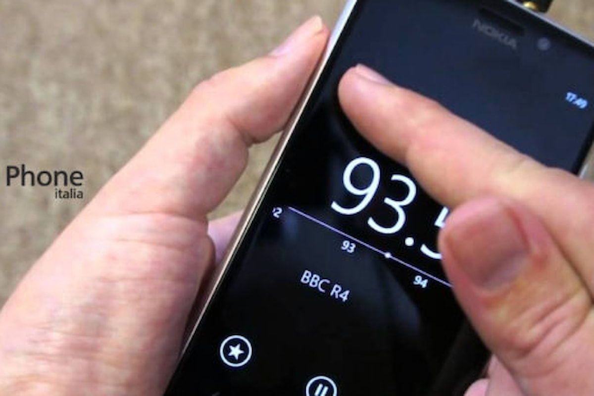 Radio FM non più disponibile su Windows 10 mobile | Surface Phone Italia