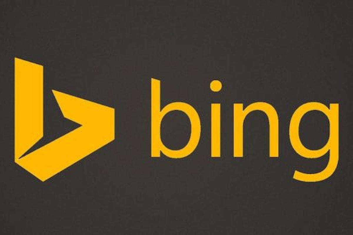 Bing testa la ricerca dei singoli Tweet