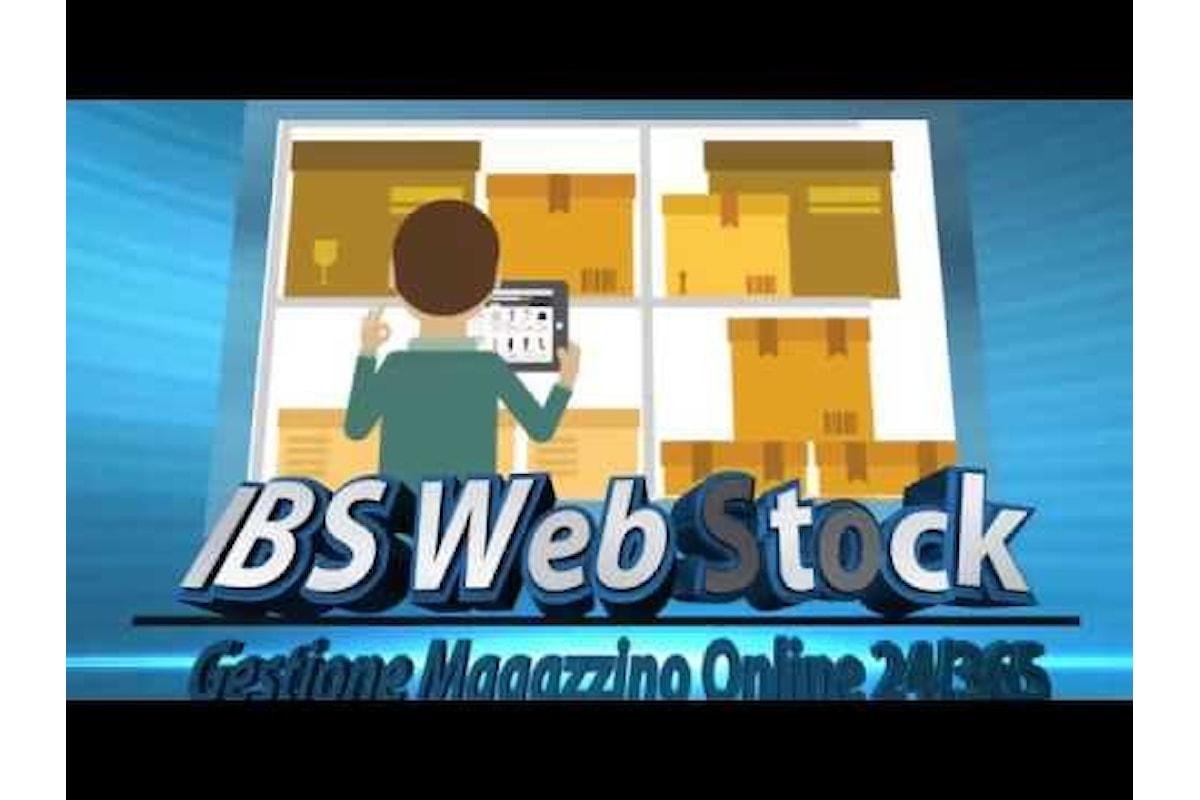 IBS Web Stock, comoda gestione online inventario e magazzino anche con Smartphone e Tablet