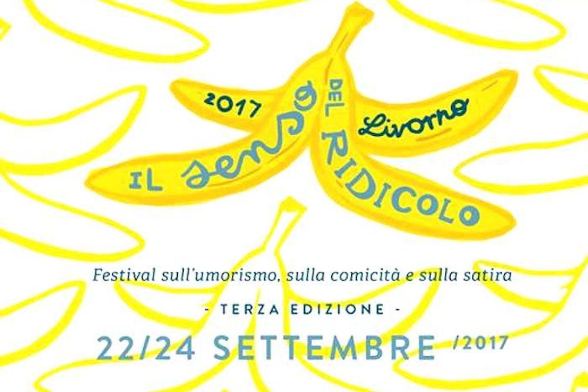 La terza edizione de Il Senso Del Ridicolo, festival italiano sull'umorismo, a Livorno dal 22 al 24 settembre