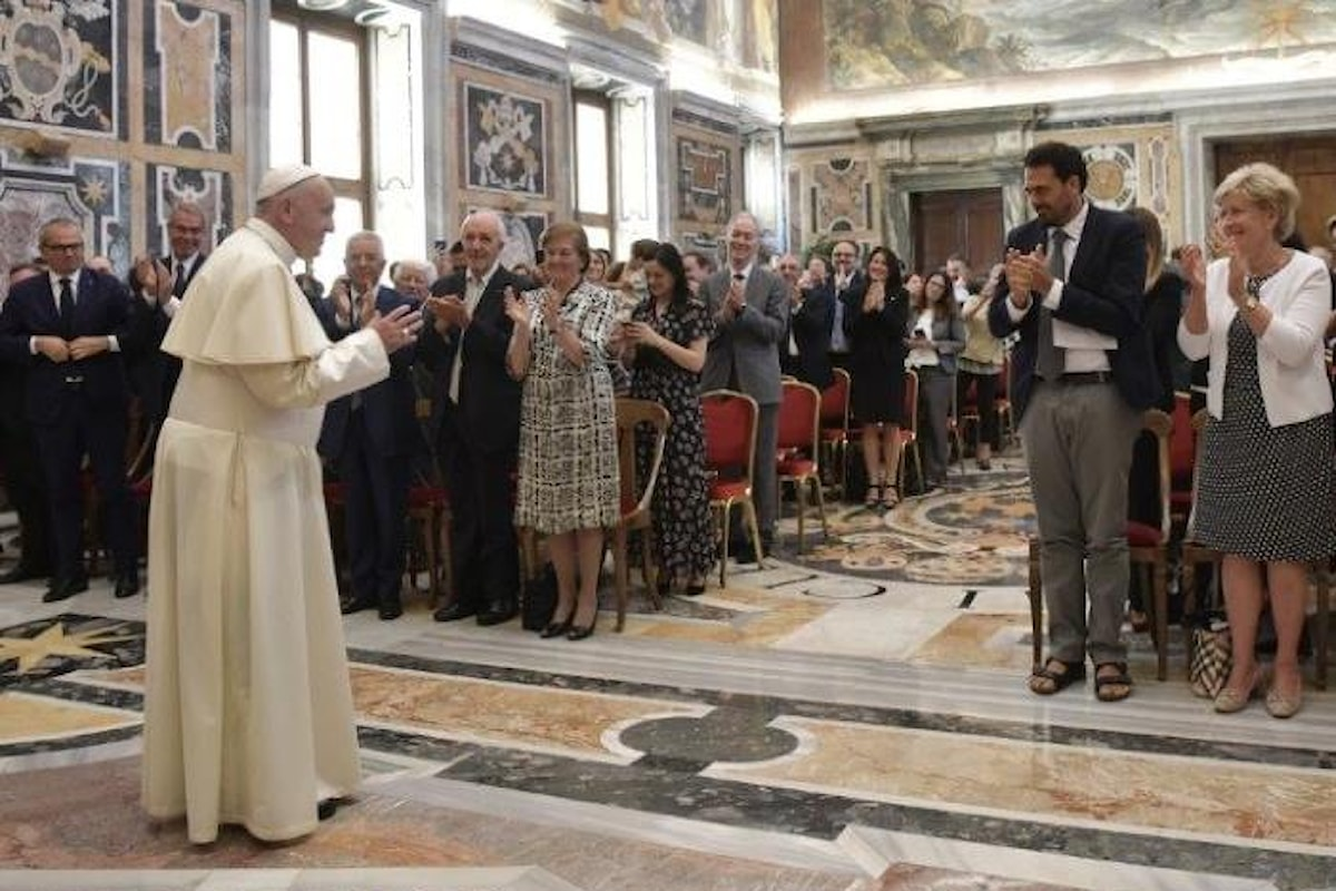 Il Papa al Forum delle Associazioni Familiari ricorda il valore della famiglia cristiana