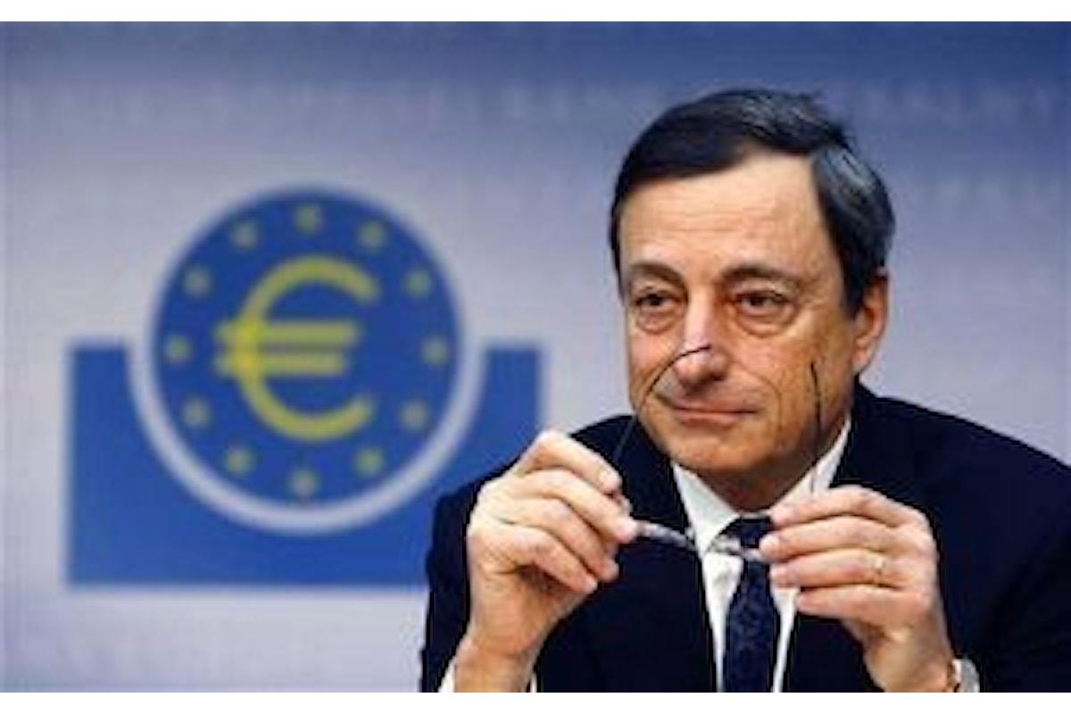 Valute, la cautela di Draghi frena l'euro contro il dollaro