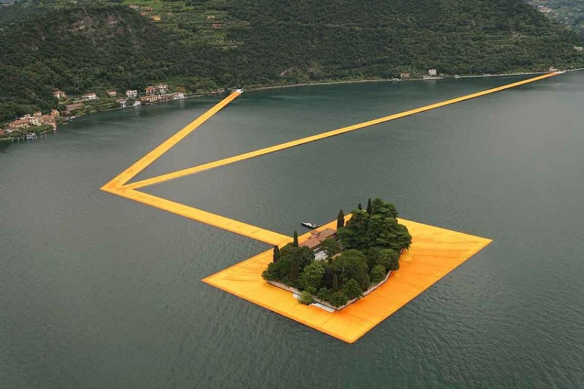 Federica Scolari pubblica un romanzo ispirato al The Floating Piers: Il ponte Magico