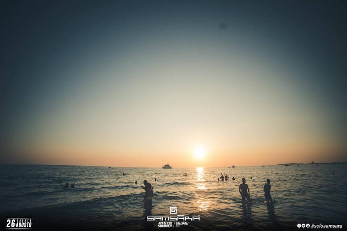 Samsara Beach: l'estate continua a Riccione, Gallipoli e Budva