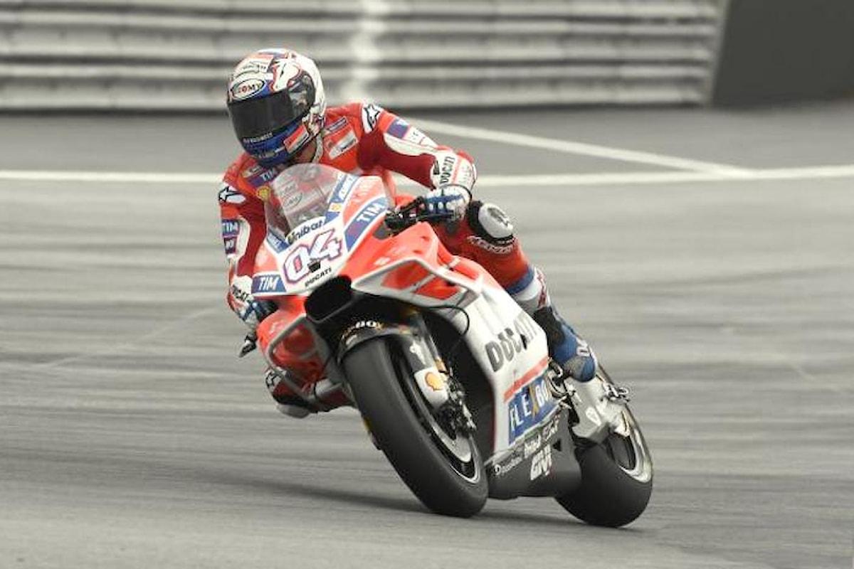 MotoGP, a Silverstone Dovizioso il più veloce nelle libere