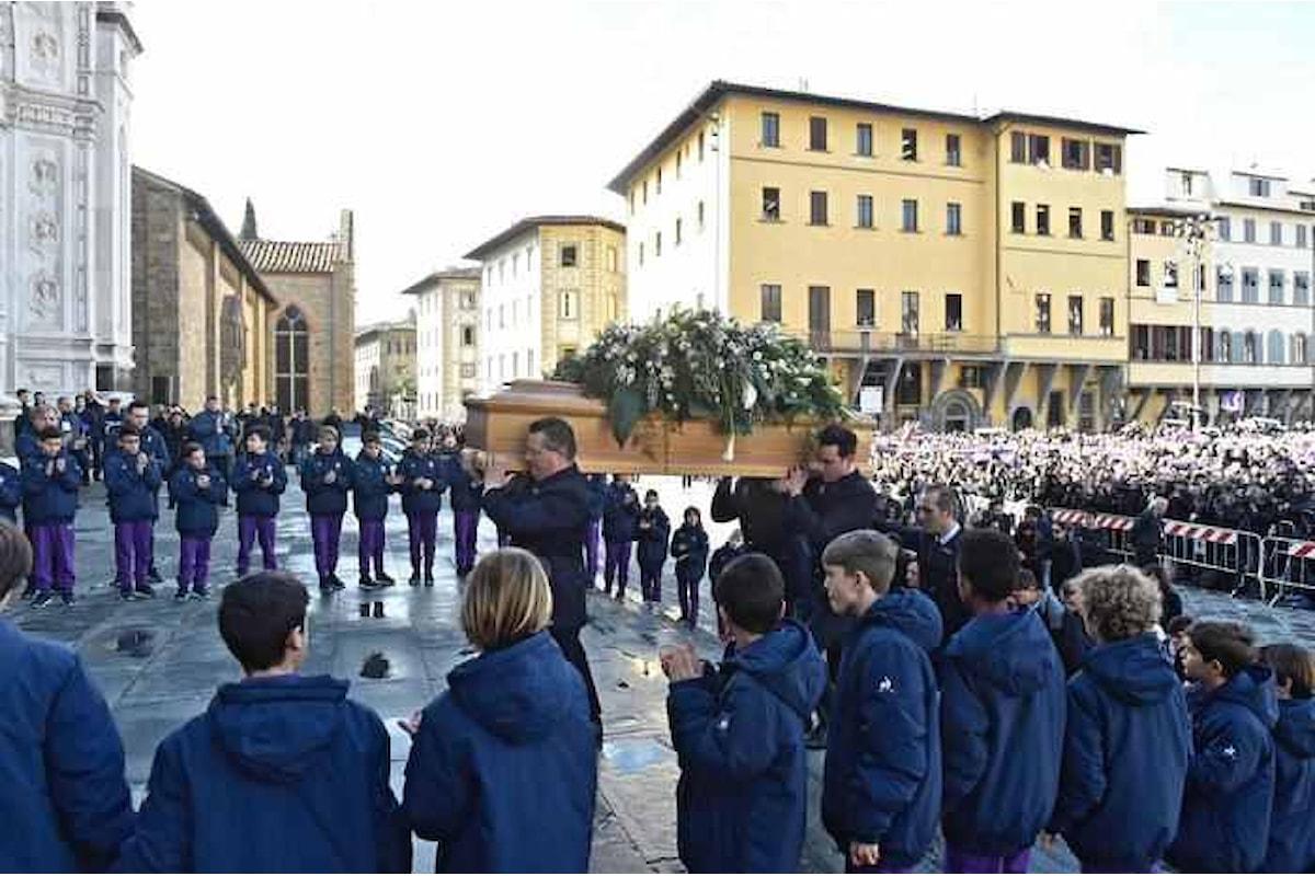 Giovedì 8 marzo, nella Basilica di Santa Croce, il funerale di Davide Astori