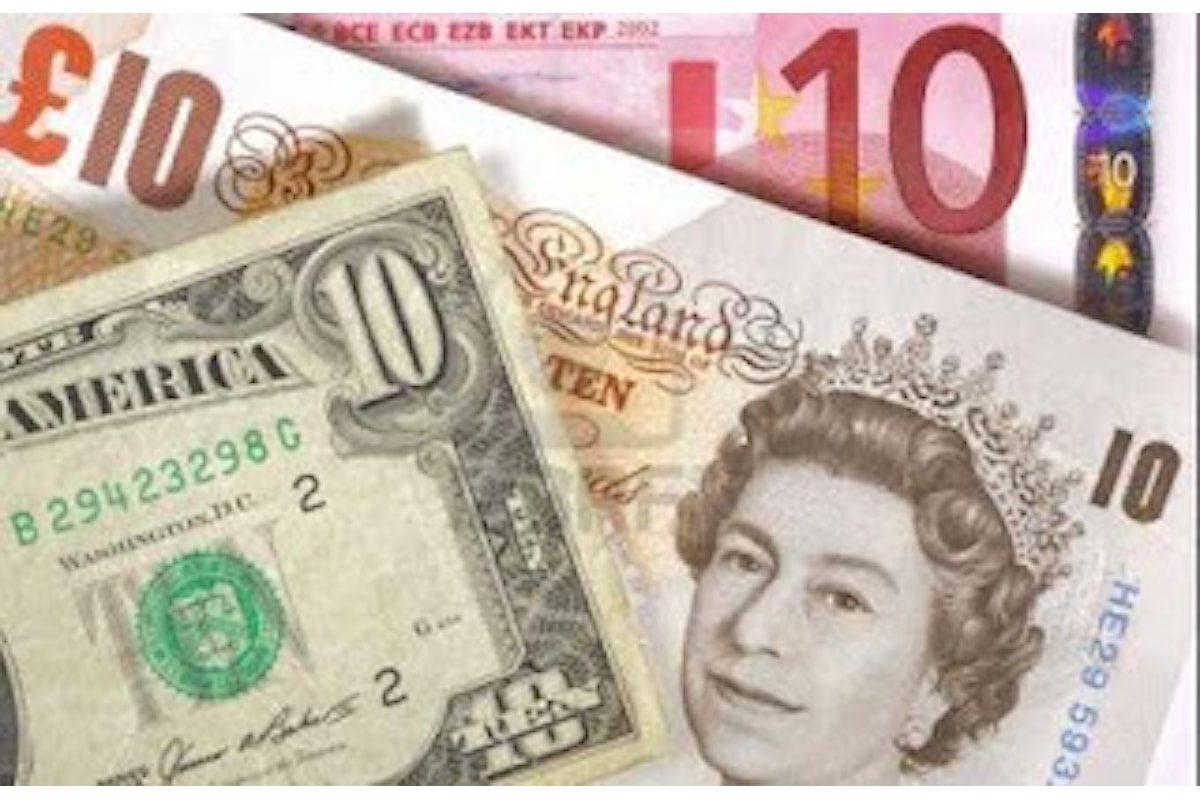 La sterlina respira: bilancio settimanale a +0,41% sul dollaro