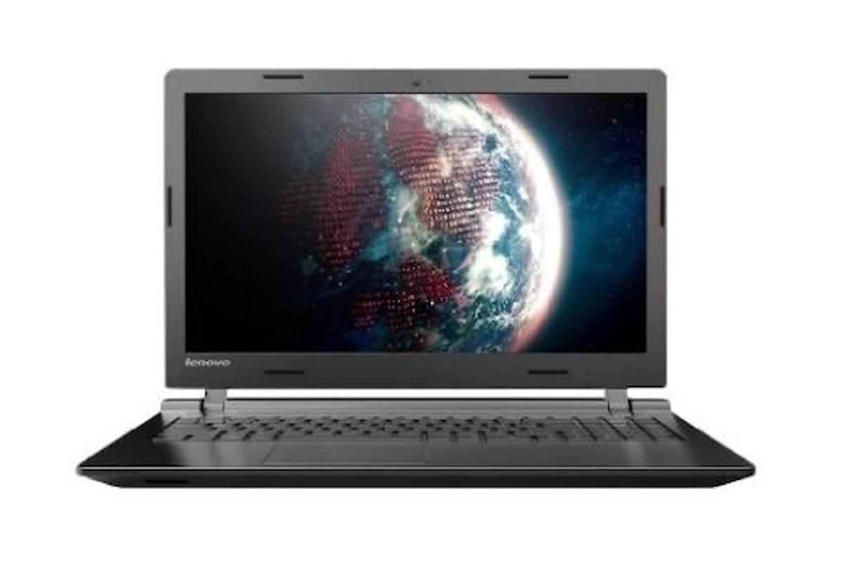 Lenovo , notebook con installato il nuovo sistema operativo windows 10