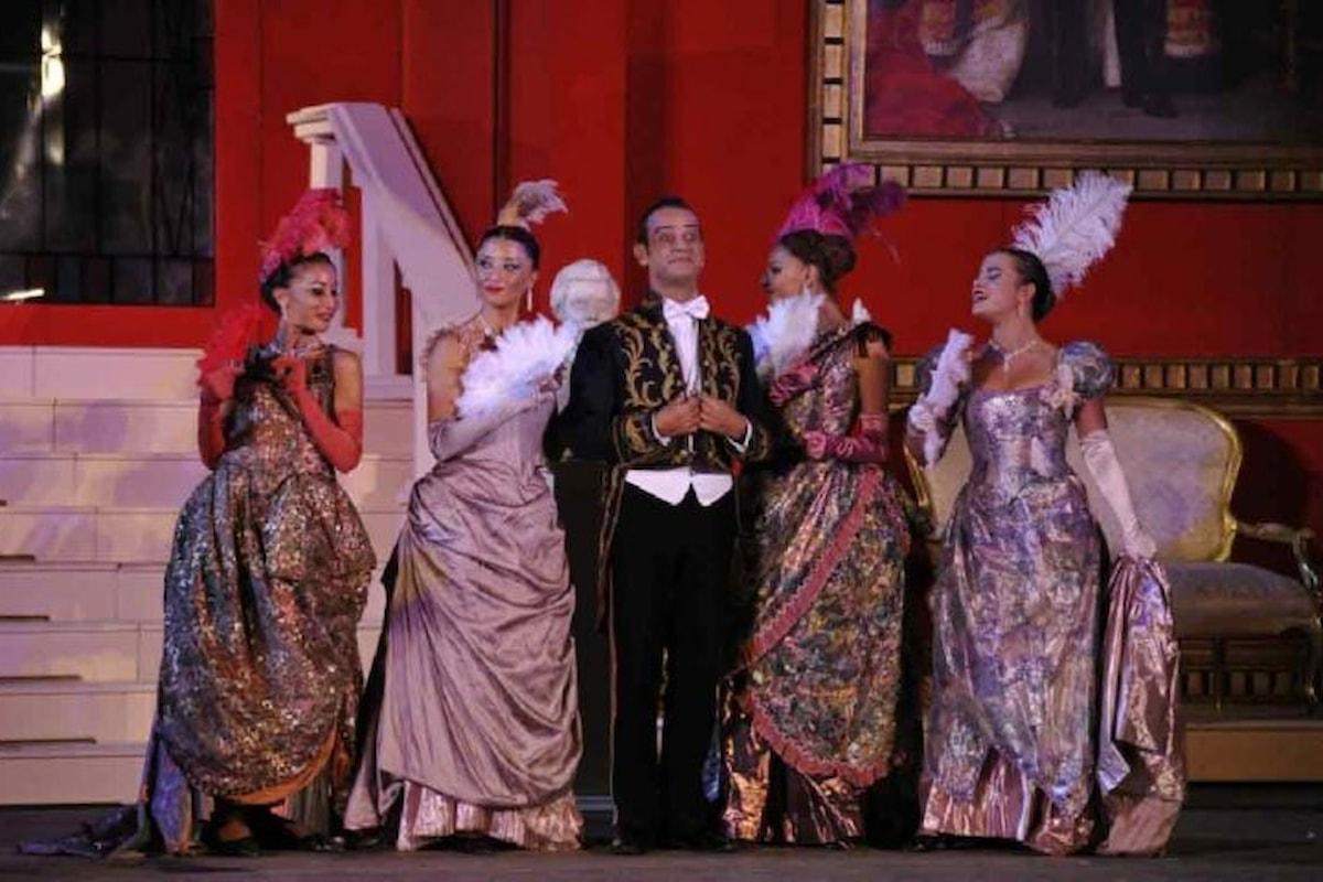In scena dal 6 al 9 aprile al Teatro Brancaccio di Roma La Vedova Allegra
