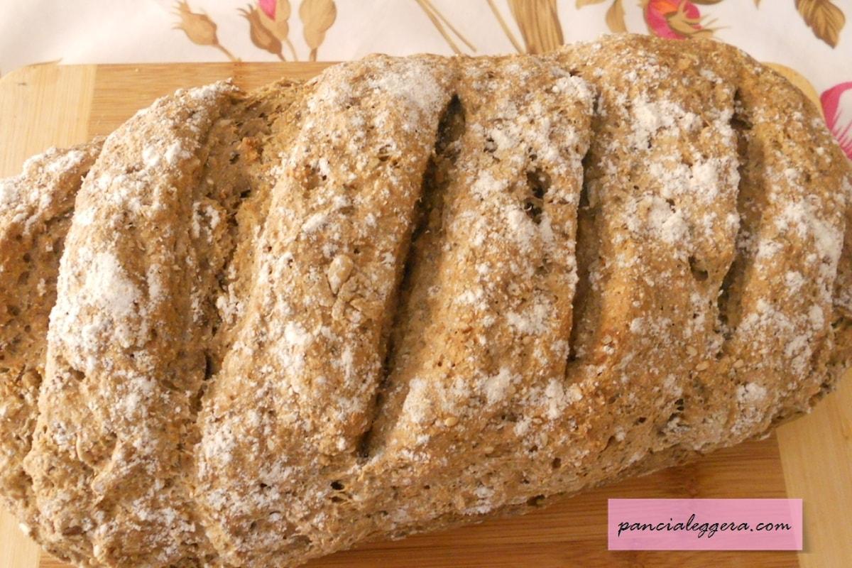 Un pane speciale e veloce da preparare, senza lievito, con il…Kefir!