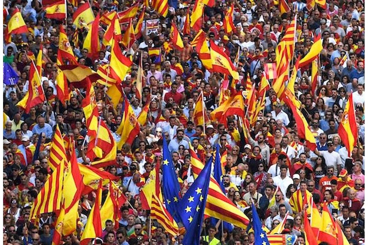 Come i giornalisti italiani ci vogliono educare sull'indipendenza della Catalogna