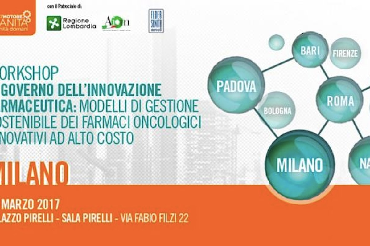 Come conciliare ricerca, cure e costi nella cura dei tumori. Se ne parlerà a Milano il 10 marzo