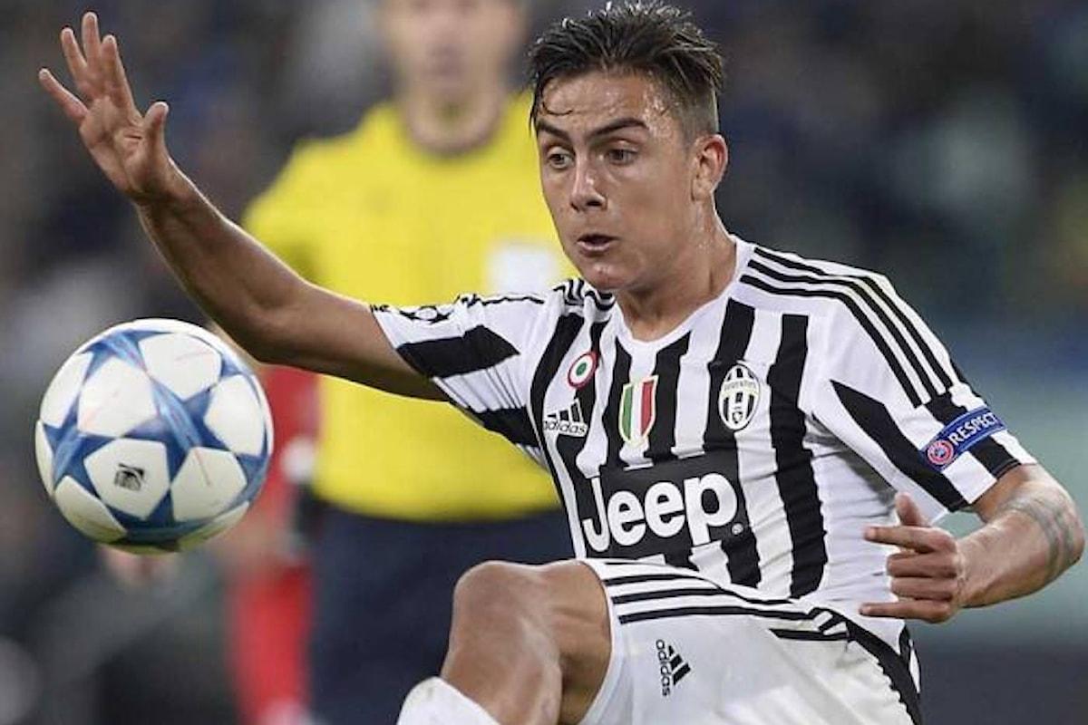 A Torino la Juventus supera di misura la Roma 1-0 grazie al solito Dybala