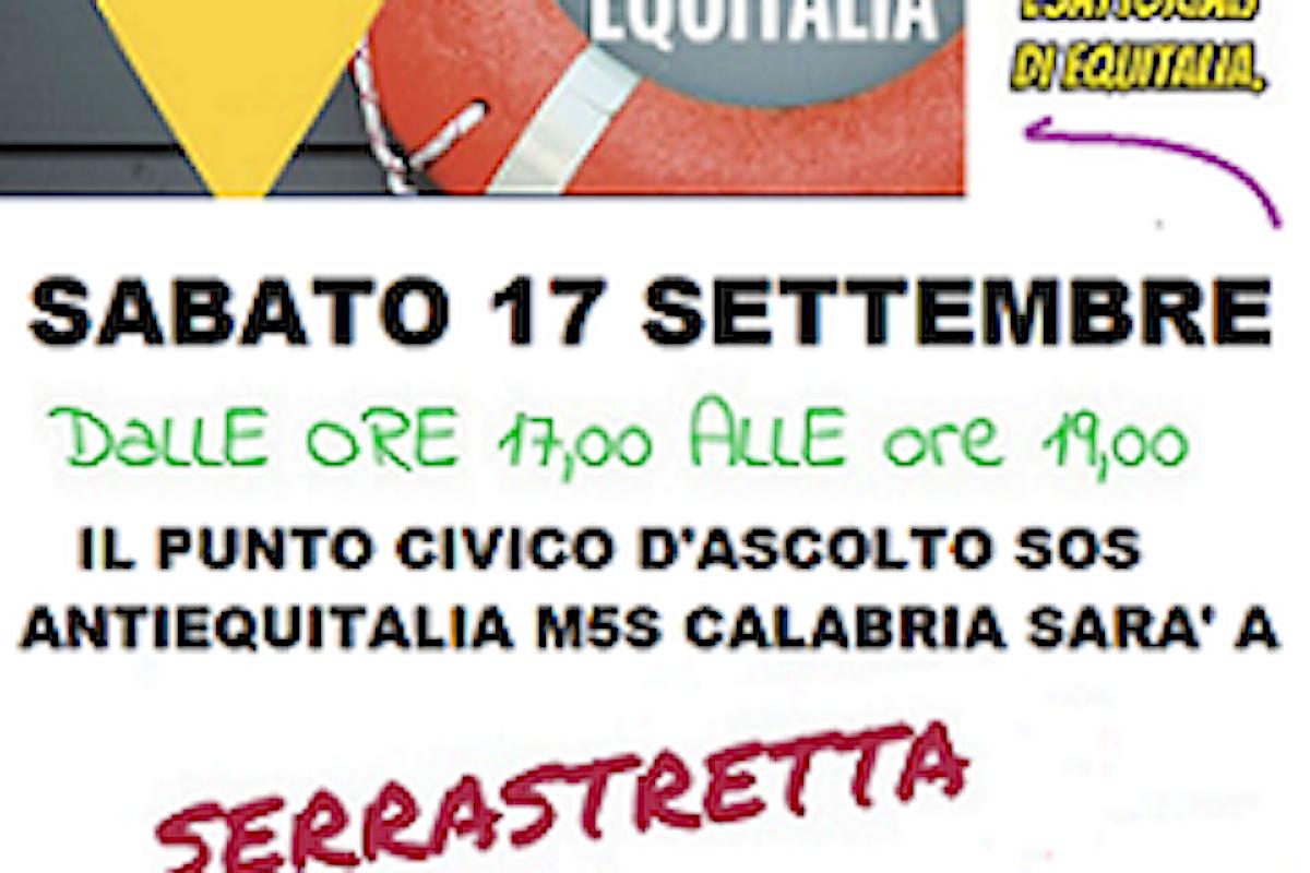 IL PUNTO ITINERANTE SOS EQUITALIA A SERRASTRETTA!