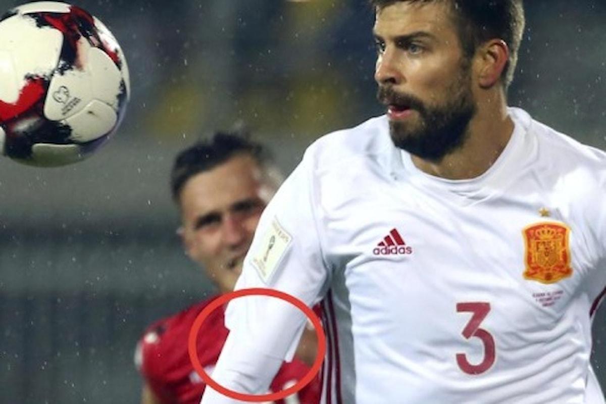 Spagna, Piqué non giocherà più in nazionale