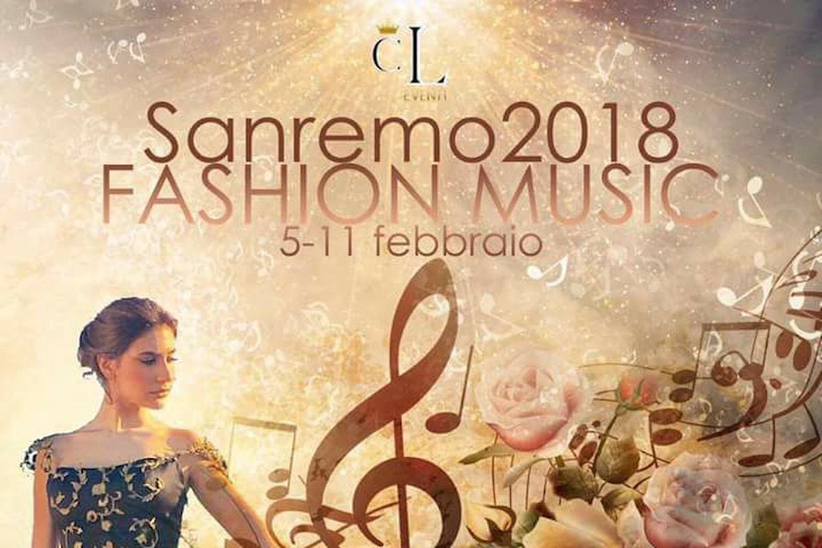 SANREMO 2018 FASHION MUSIC ecco la nuova Kermesse della CL Eventi di Canio Loguercio che unisce il fashion e la musica