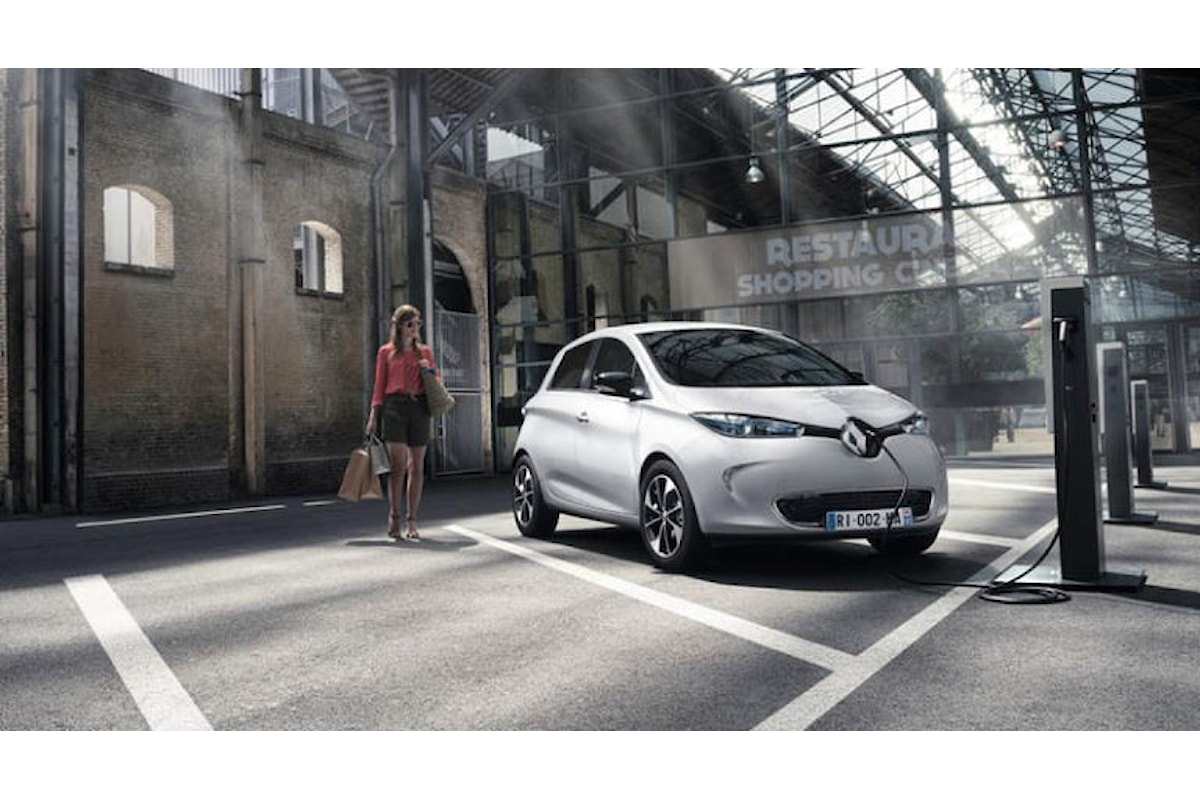 Renault Zoe vince il trofeo Green Apple 2016!