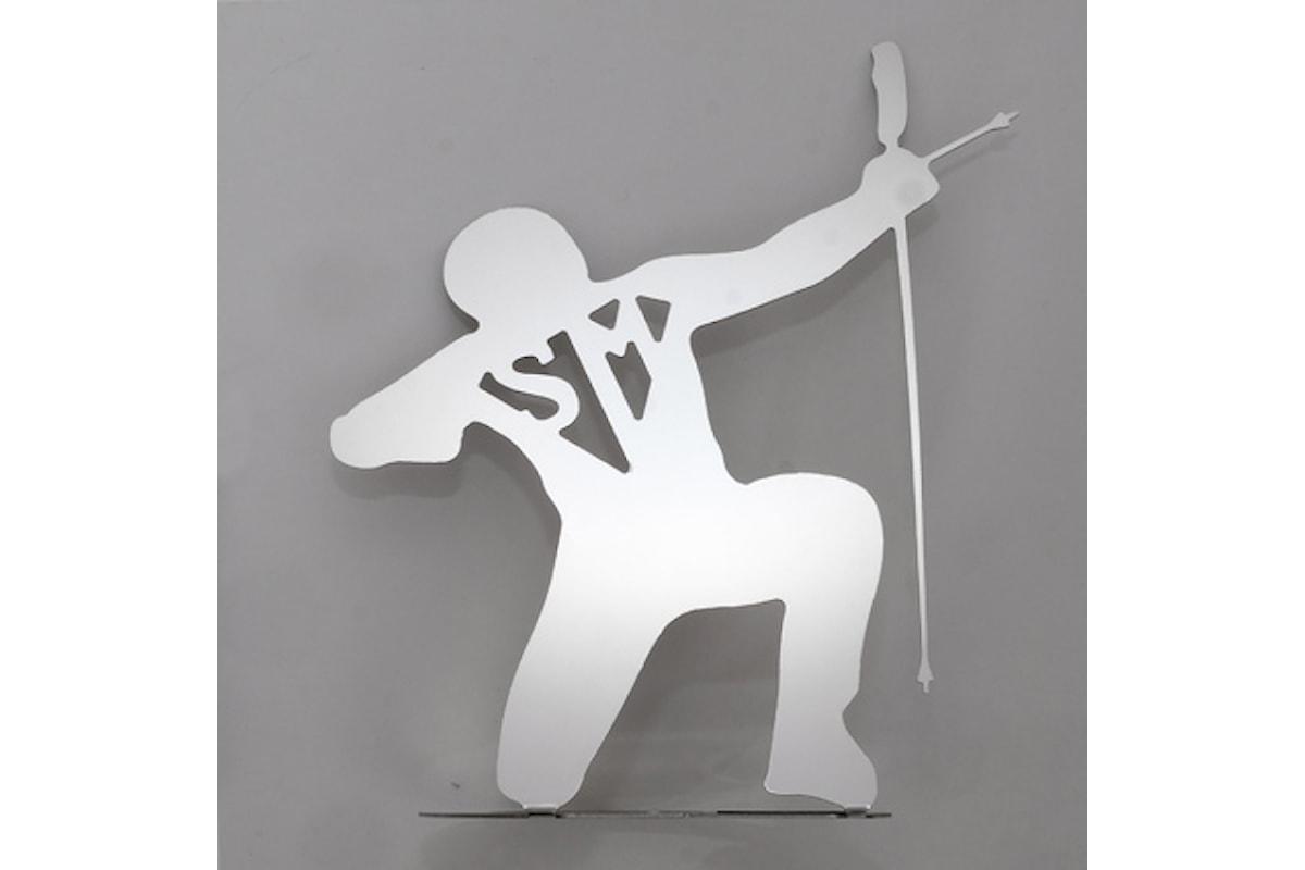 Ricostruire con Arte: Super Max Arciere, opera di Daniele Basso