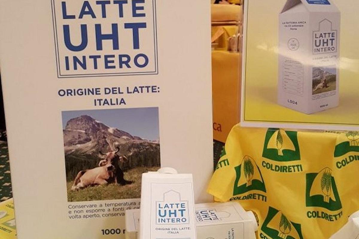 Anche il latte adesso può essere Made in Italy