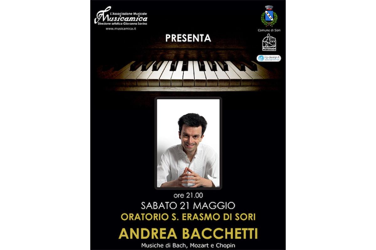 The Italian Bach in concerto a Sori