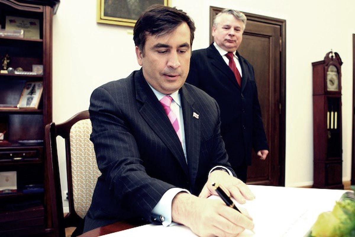 Russia, l'ex presidente georgiano Saakashvili prevede la caduta di Putin