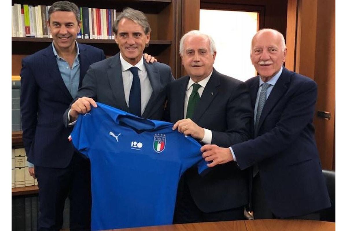 Presentato a Coverciano il nuovo CT della nazionale Roberto Mancini