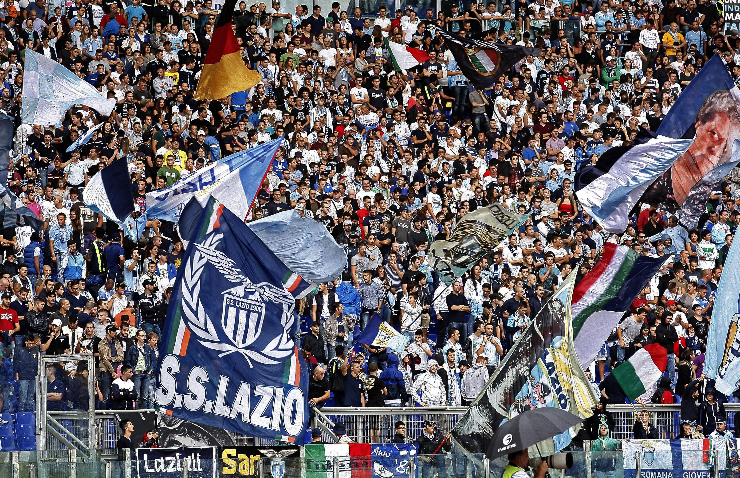 La Lazio senza la sua Nord al derby