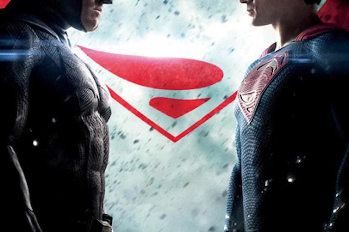 Qualche Curiosità sul film Batman V Superman da ieri al cinema