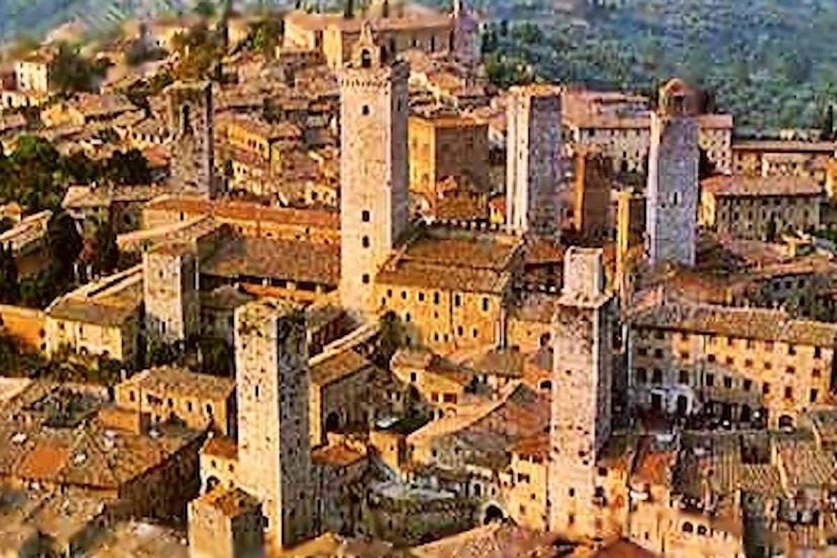 San Gimignano. Vieni a visitare il borgo medievale delle torri.