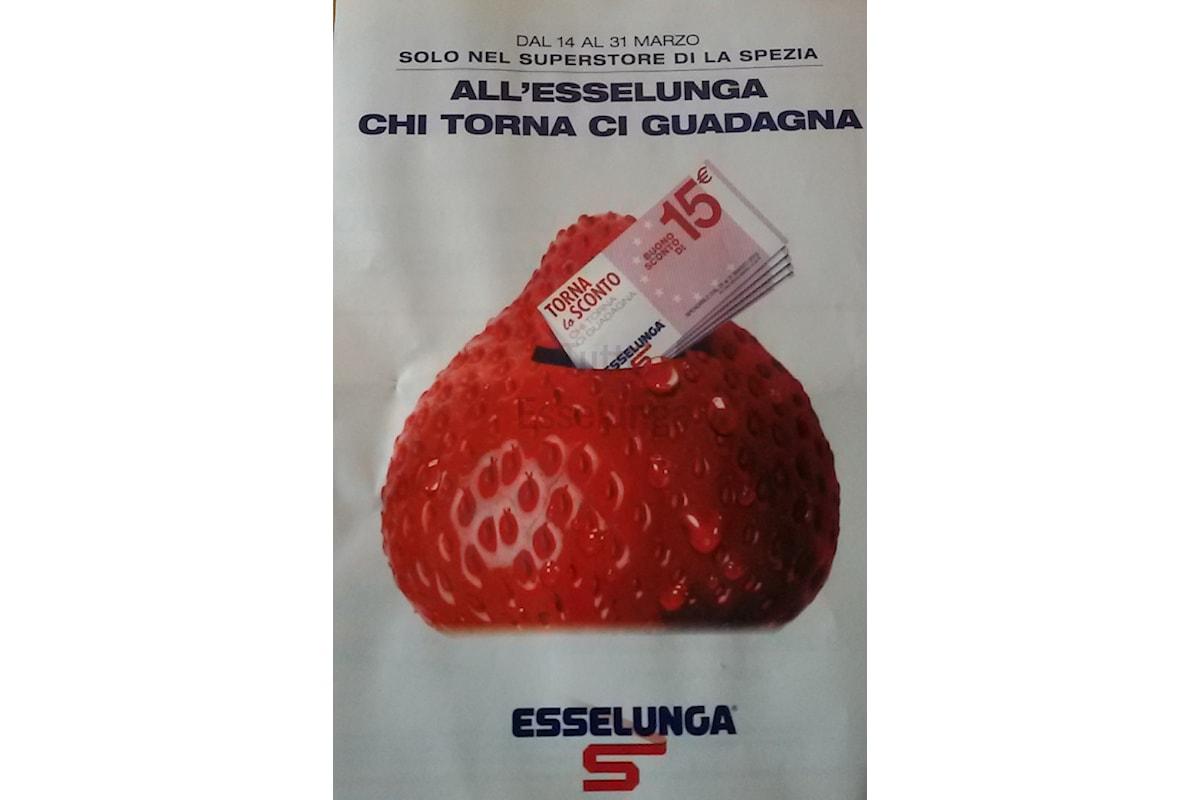 Promozione Chi torna ci guadagna di Esselunga ti regala 15€!