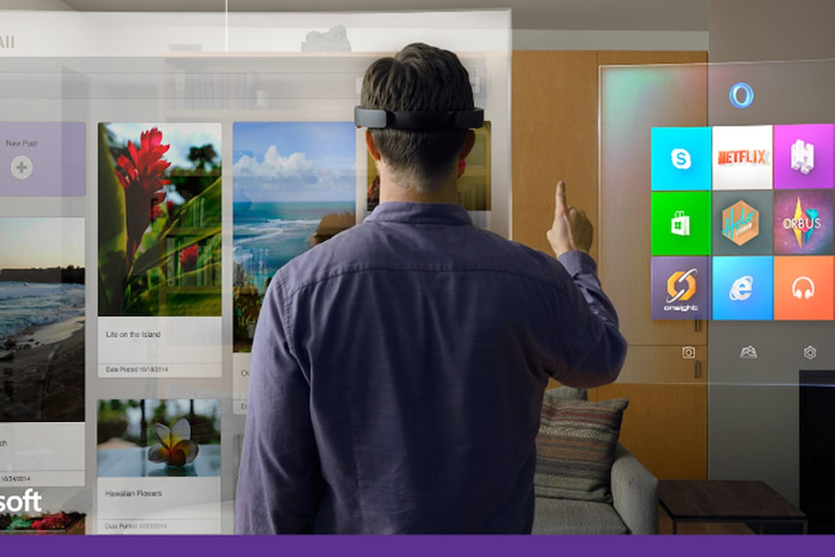 Microsoft invita tutti i partner all'utilizzo della nuova piattaforma per la realtà aumentata Windows Holographic