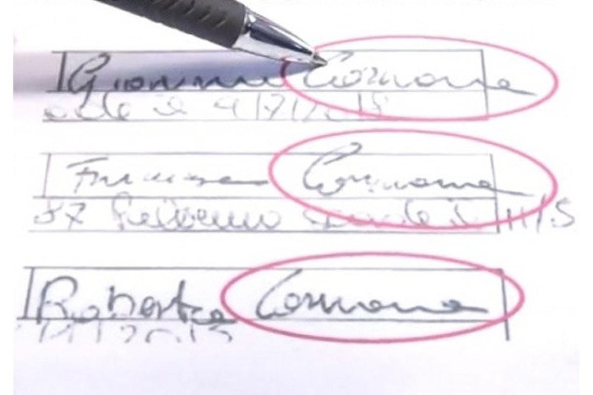 M5S, a Palermo le firme erano davvero false: la conferma arriva dai grafologi
