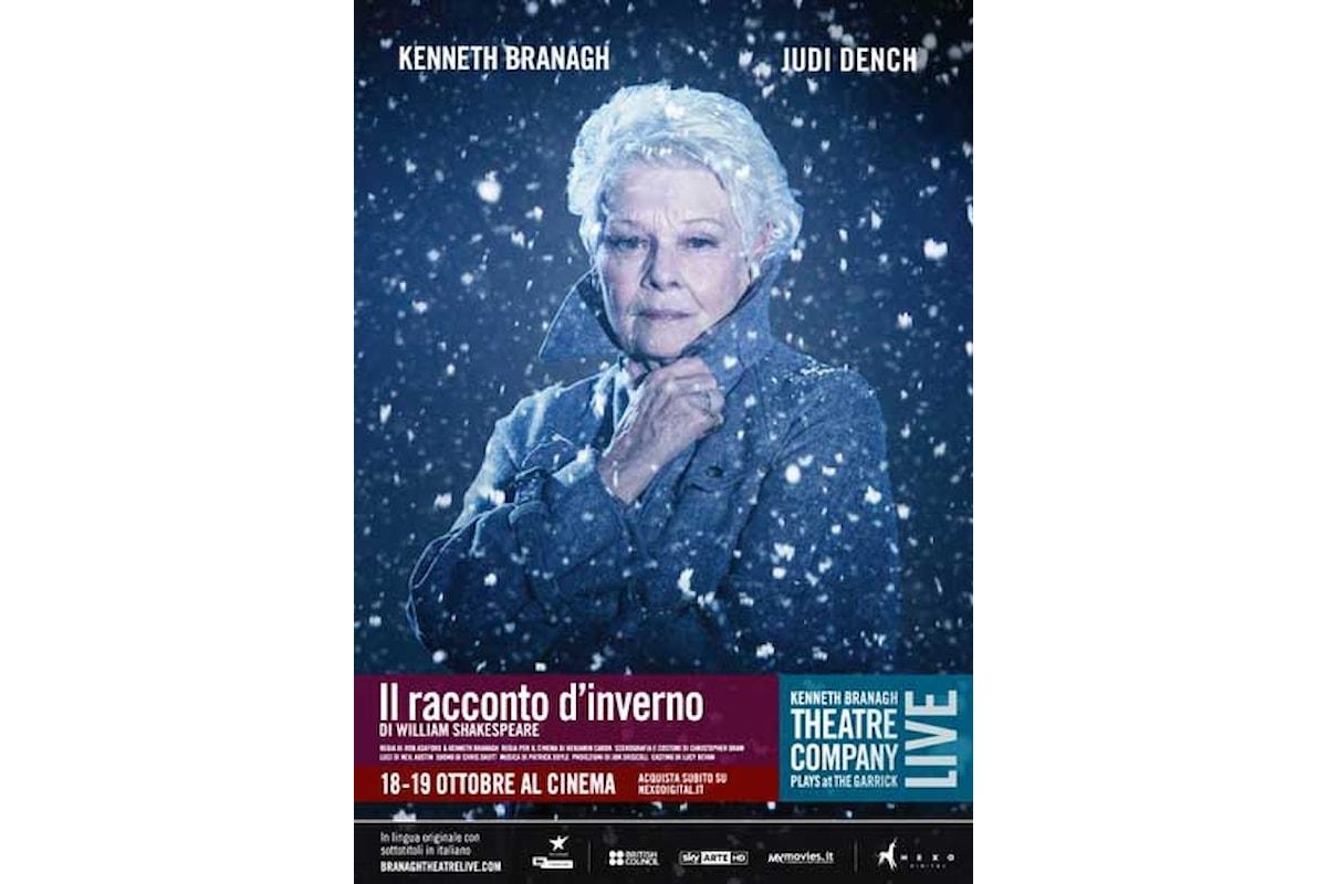 Solo fino al 19 ottobre al cinema IL RACCONTO DI INVERNO con la Kenneth Branagh Theatre Company