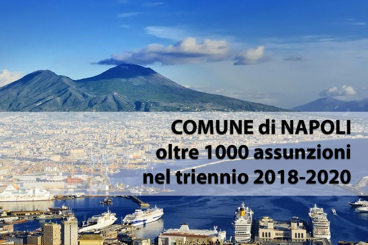 Comune di Napoli, con De Magistris approvato il piano assunzioni per i prossimi tre anni