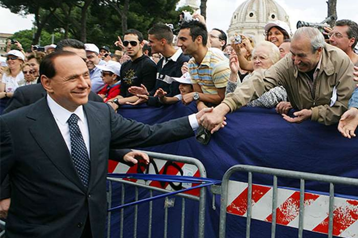 Il nuovo messaggio politico di Silvio Berlusconi: meno tasse, meno burocrazia, meno Stato