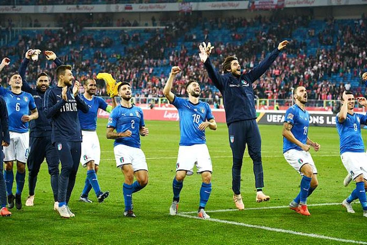 A Chorzow l'Italia ritrova la propria nazionale di calcio che batte la Polonia 1-0 in un match valevole per la Nations League